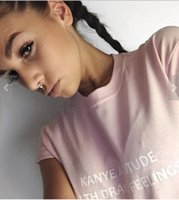 attitude t shirts - Kanye Attitude With Drake Feelings Fashion Tee Women Men Casual Summer Style T Shirt Sport Tops