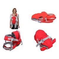 baby carrier back pack - 70PCS Convenient Baby carriers Slings Backpacks Decompression strap Blue Red opp bag packing Freeshipping