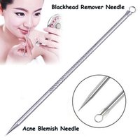 Wholesale Professional Antibacterial Blackhead Remover Needle Acne Needle Tool Skin Care Tools Blackhead Comedone Acne Blemish Extractor Remover