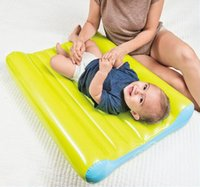 Wholesale Original Genuine INTEX inflatable mattress thicker soft baby diapers pad air bed with pump