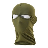 Wholesale Balaclava Headwear Outdoor Protection Lycra Workout Cycling Ski Motorcycle Hunting Full Face Mask Prevent Bask in