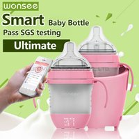 best baby bottle nipples - Wonsee Smart Baby Bottle Ultimate Nipples ml ordinary and ml Multifunctional Bottles Food Grade Silica Gel Pass SGS Test Baby s Best