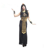adult egyptian costumes - Cosplay masquerade Halloween costume adult Women costume Egyptian Cleopatra royal