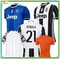Wholesale DHL quality A home soccer jersey DYBALA HIGUAIN fans version MANDZUKIC Football Shirts