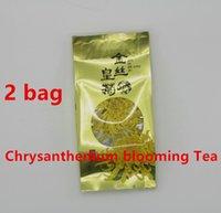 aromatic tea - Promotion sachets g Each China Genuine WUYuan Chrysanthemum Tea Refreshing aromatic Flower Tea Blooming Tea Chinese Herbal Tea