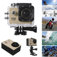 Wholesale SJ4000 Waterproof Sports Camera Underwater Water Sports Helmet DV Action HD Video Recorder DVR Camcorder Cam