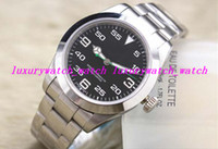 airs steel wristwatch - Luxury AAA Top Quality Wristwatch Air overlord mm Stainless steel strap man watch