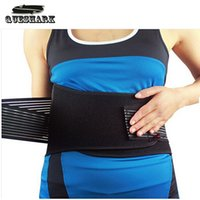 Wholesale Professional Adjustable Slimming Exercise Belt Men Women Shed Water Weight Back Brace Waist Support