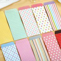 Wholesale Korea Cute Dot Mini Colorful Paper Envelope Kawaii Gift Paper Envelopes For Wedding Letter Gift H0527