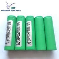 Wholesale Authentic Guarantee Samsung R Green Lithium Battery mah a Max Discharger Rechargeable High Drain Battery For Box Vape Mods