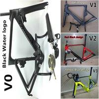 Wholesale July TOP sales Black Vias carbon road bike Handlebar Frames of styles SLV carbon bike frames Made in China