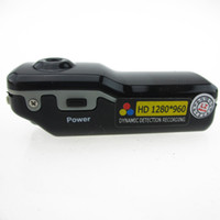 HD 1280 * 960 voix avtived Sport DV Digital Video Recorder MD80 Tumb Mini DVR Portable COMS PC webcam 5.0MP caméra cachée de mini-caméra
