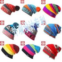 active skate - Hot Sale SNSUSK Snowboard Winter Ski Skating SKULLIES Hats Beanies Wool Knitted Warm For Men Women Hat Free DHL