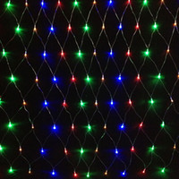 Wholesale led string x leds net lights modes Xmas Party Wedding Christmas Lights Outdoor Decoration Holiday Lighting