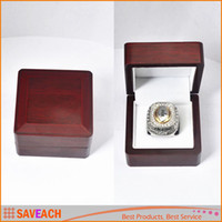 Wholesale Fashion Championship Rings Box cm Red Box Retro Style Jewelry Box For Display WITHOUT RING