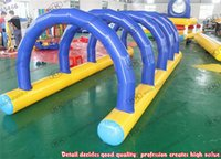 adult rentals - outdoor inflatable sport games adults inflatable hurdles for event rentals