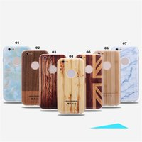 aluminum lighting frames - Wood Pattern Cell Phone Cases for iPhone s Stylish Light Weight Aluminum Frame Bumper Covers for Samsung s7