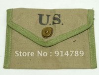 army first aid - WWII US ARMY FIRST AID POUCH