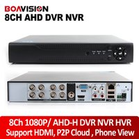 Wholesale New Arrival P AHD H Hybrid Channel AHD DVR Recorder In Hybrid DVR Ch AHD DVR P P AHDH Support For MP AHD Camera