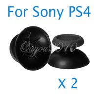 Wholesale Best Promotion Mushroom Analog Thumbstick Joystick Gamepad Controller Stick Cap Cover For Sony PS4 Replacement
