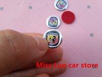 auto stencils - stickers stencil mm D Abarth Car logo Auto Key Fob Emblem Badge Sticker Auto accessories