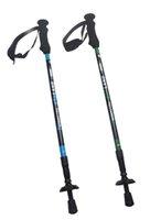 Wholesale Sunland Full Carbon Fiber Trekking Poles Ultralight Adjustable Hiking Walking Trekking Camping Trail Poles Green