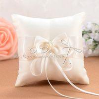 arty ring - arty dollar cm Ivory Wedding Ring Pillow Detalles Boda Wedding Decoration Wedding Supplies Event amp Party Supplies
