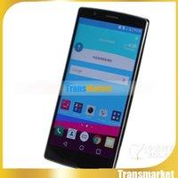 5,5 pouces Unlock G4 Smart Phone MTk6572 Dual Core Android 5.1 téléphone portable 4GB ROM 3G WIFI téléphone cellulaire intelligent double caméra SIm Avec logo