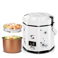 Wholesale 1 L portable mini electric rice cooker V V cooking tools Europe Chinese British standard American Standard plug C01003