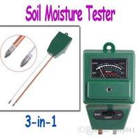 Wholesale Garden Soil Moisture Tester Light Luxmeter PH Meter in Freeshipping dropshipping