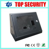 Wholesale New model iface302 iface502 iface702 face time attendance protect box metal box with key good quality