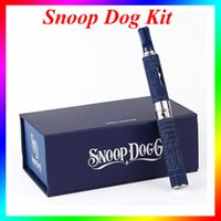 Wholesale High Quality snoop dog g dry herb vaporizer pen starter travel kit kits g atomizer e cig VS subox mini