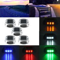 Wholesale Best Price Solar Power LED Road Stud Marker Outdoor Path Deck Garden Yard Lights Lamp Lighting
