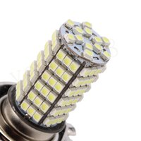 Wholesale New H4 SMD Pure White Head Fog Lamps LED Car Light Lamp Bulb Auto car led bulbs Car Light Source parking V K hot