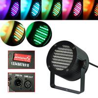 Wholesale 86 RGB W LED PAR Light DMX Lighting Laser Projector Stage Party Show Disco Stage Lighting Effect DJ Lamp Light KTV BARS Nightclubs