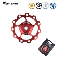 bicycle chain strength - Mountain Bicycle Chain Guide Wheel Ultralight High Strength Aluminum Alloy Bike Accessories T Rear Derailleur Guiding Wheel