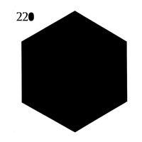 Wholesale set Removable Vinyl Blackboard Messages Sticker Draw Notice Blackboard Office Household Home Decor Hexagon Shape Sticker