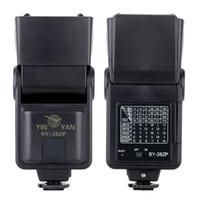 Wholesale GN28 Speedlight Hot Shoe Speedlight Camera Flash Light Manual Speedlight for Nikon Canon Pentax Olympus DSLR Cameras