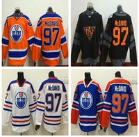best flashing - 2016 World Cup North America Ice Hockey Jerseys Black Edmonton Oiler Connor McDavid Jersey Men Fashion Best All Stitched Quality