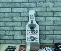 beer bottle storage - Creative Bar Beer Bottle Opener with Storage Box Kitchen Tools Pub Tools Original Home Tableware
