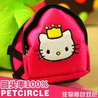 Wholesale Rose Green Kitty And Frog Pet Carriers For Dogs Puppies Dachshund Yorkie Small Animals Cat Bag Accessories Products USD20