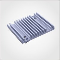 Wholesale 10set Aluminum Extursion Heatsink Customized Drawings are Welcome Used for Cooling Raspberry HeatSink Fans