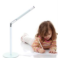adjustable table base - 24led LED desk lamps bright led table lighting glass base with charger adapter for bedroom study adjustable brightness