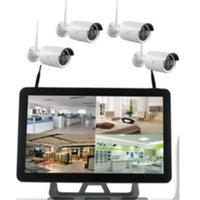 Acheter Hdmi vidéo sans fil-Kit de NVR sans fil 720P 960P 4CH Wifi HDMI VGA D1 1/4 ECRAN P2P Enregistreur vidéo réseau avec 4 caméras 9220