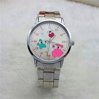 bear bracelet - 2016 Top Luxury Brand teddy bear Watches Bracelet Oso Oro Gold Stainless Steel Wrist Watch For Women Relojes Mujer Marca De Lujo