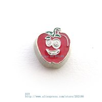 bell pepper live - WW027 Bell pepper Floating Locket Charm For DIY living memory Floating Locket Accessories