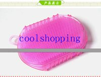 Wholesale High Quality Two Sided Massage Glove Brush