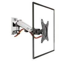 aluminum wall brackets - NB F120 quot Gas Spring Full Motion TV Wall Mount LCD Monitor Holder Aluminum Arm Bracket