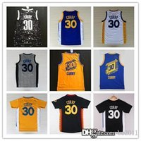 Wholesale The City Lights Jerseys Steph Curry Basketball Jersey Throwback Uniform Sleeve Stephen Curry New Year Basket Shirts