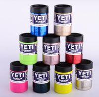 12 oz bottles - 10 colors oz oz YETI Rambler Colster Vacuum Insulated Tumbler Yeti Mugs Car Beer Cup